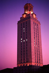 The Tower Aglow - University of Texas at Austin