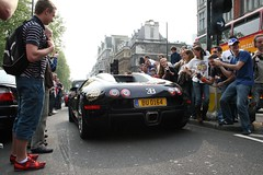 The back-end of a Bugatti Veyron