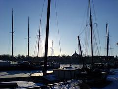 Boats at Djurgarden, Stockholm