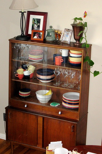 new/old china cabinet