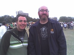 Me and Brian Posehn