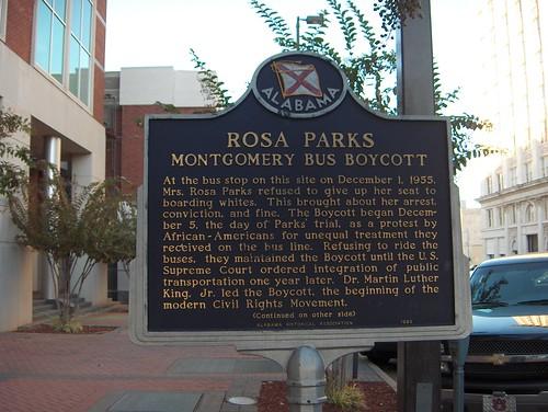 Rosa Parks - Bus Boycott by Ann Alto.