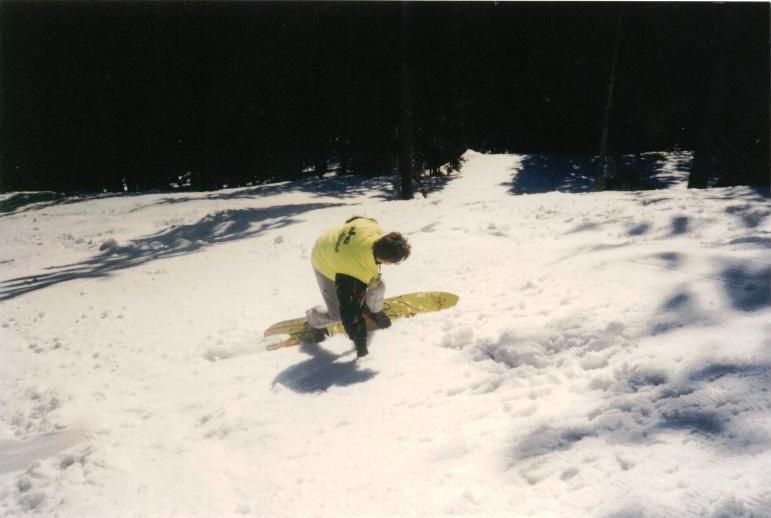 Snowboard Sims Hooger Booger Crazy Banana