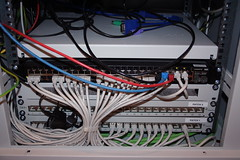 Patch panels and switch