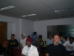 First Internet Cafe Workshop Johannesburg 2007