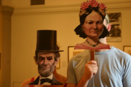 05.12.07 - Smithsonian - Mr. and Mrs. Lincoln-Pants