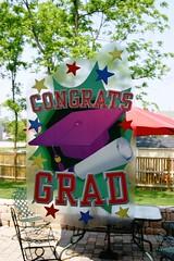 05.26.07 Graduation Party -  Decorations