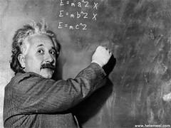 Einstein, math anxiety