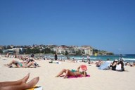 Girl Suntanning at Bondi by fotoFluke