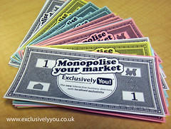 monopoly money