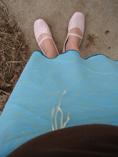 Cute Skirt and Summer Shoes