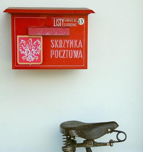 Bicycle mail by jurek d.