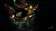 Base petrolífera donde está Josh retenido por Phillip