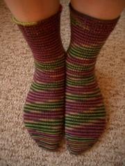 80s Punk Rock socks