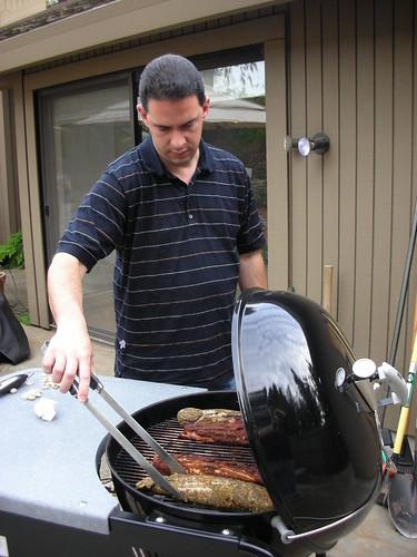 Mark at the BBQ