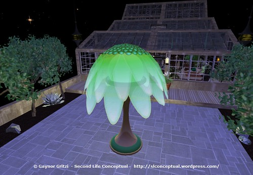 FlowerTree Light Lawn Ornament 011