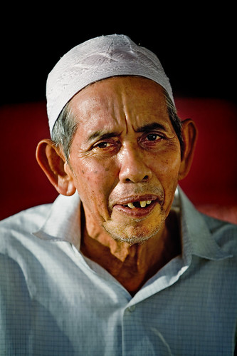 Portrait - Man Of Ubudiah Mosque