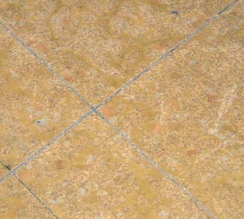 The flooring under the flooring