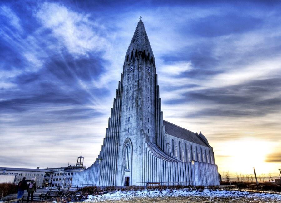 Godly Sunrise in Reykjavik