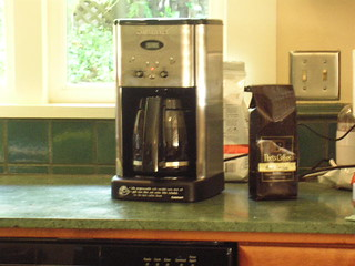 New coffee maker Kevin