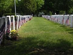 Veterans' graves, Wakefield, MA
