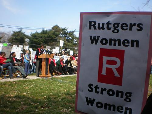 rutgers women strong women