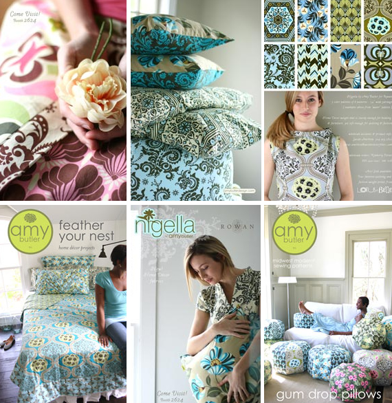 Amy Butler *New* Nigella Collection + 6 patterns