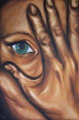 Mirror - 36 x24 Oils on Canvas by Jennie Rosenbaum