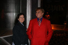 Madame Tussauds - Jonna and Elton John
