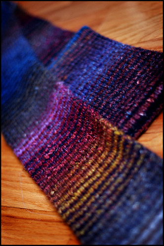 * Of course, the ever famous Noro Striped Scarf!  :)