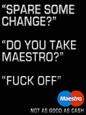 maestro vs the homeless