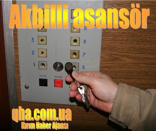 Akbilli asansör