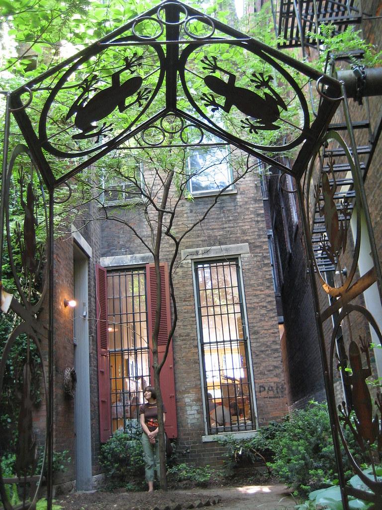 Urban Eden's courtyard (Main Street, OTR)