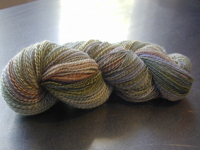 Cricket Handspun sock yarn