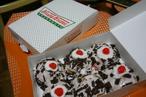 Free Krispy Kremes!