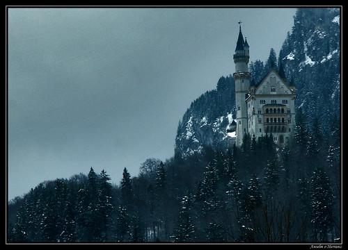 Invierno en el Castillo de Neuschwanstein