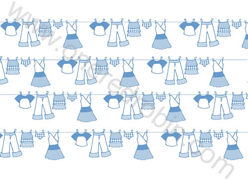 """Clothesline"" Pattern by j.m.aranez."