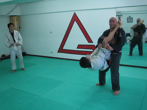 A BJJ Black Belt Avoiding a Triangle