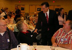 Mitt Romney in Council Bluffs