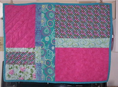 Doll quilt from Solidia