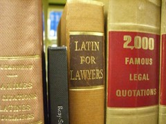 Lawyers Speak Latin