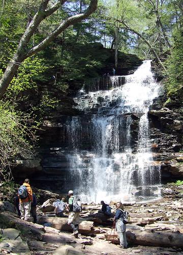 Ganoga Falls 1