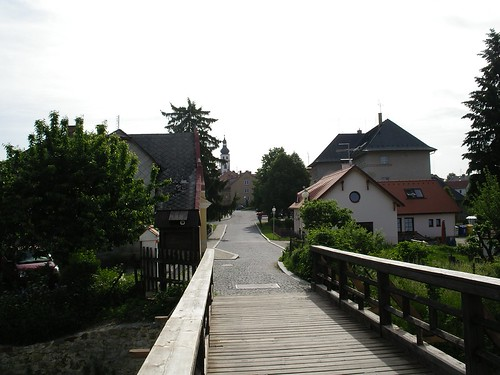 Wooden Bridge for Pedestrians and Bicycles