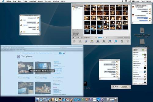 Mac OS X Expose