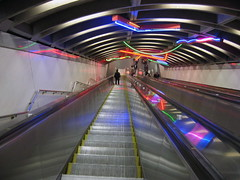 Exchange Place escalator