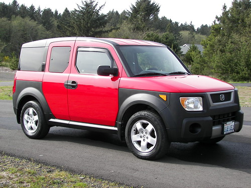 clean honda element