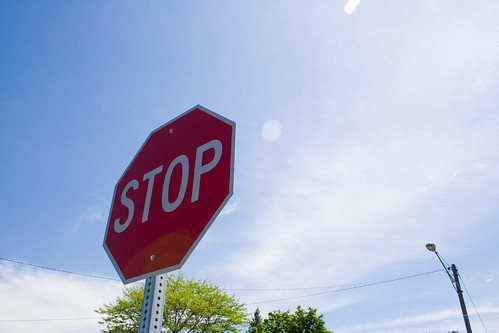 stop sign today - dymlos