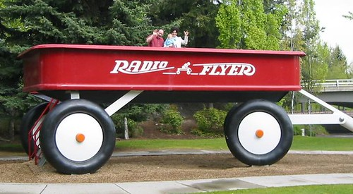 World's Largest Radio Flyer Wagon