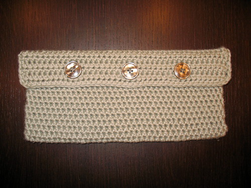 seamless crocheted purse