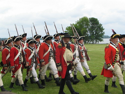 Re-enactors admitted free (no weapons, lads!)